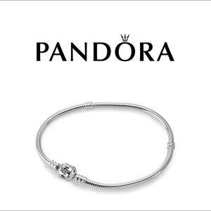 Pandora Moments Snake Chain Charm Bracelet